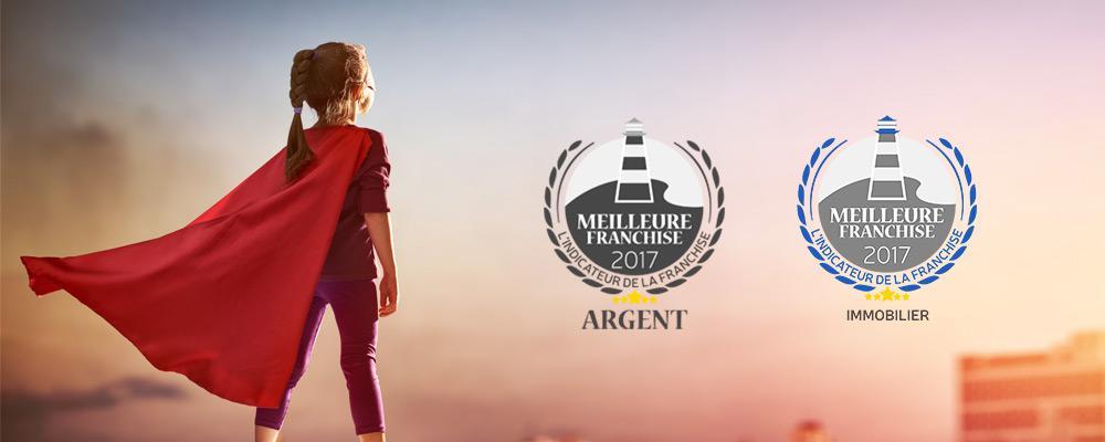 Crédit Conseil de France élu 2ème Meilleur Réseau de Franchise de France et Meilleur Réseau de France dans son secteur